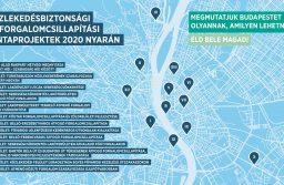 Forgalomcsillapítási mintaprojektek Budapesten