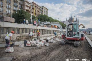 Újjászületik a pesti Duna-part